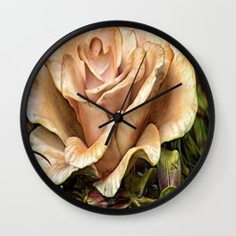 Ethereal Effloresce Wall Clock
