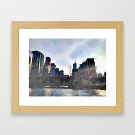 Black Wind  Framed Art Print
