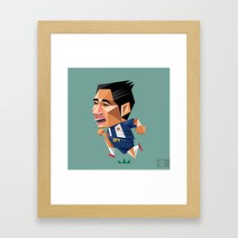 EVAN DIMAS Framed Art Print