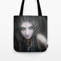 into the wild Tote Bags featuring Wild by Justin Gedak