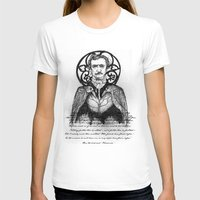 poe T-shirts featuring POE by Art of Michael J. Cincotta