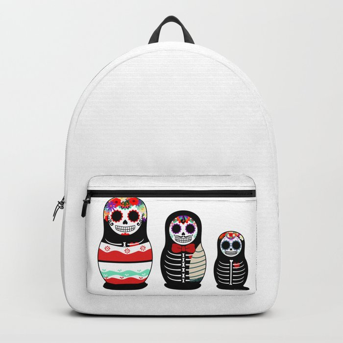 Halloween Russian dolls Backpack