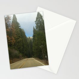Sequoia National Park- Road Stationery Cards
