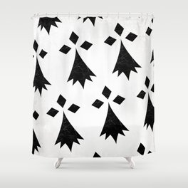 Breizh Flag Shower Curtain