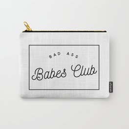 BAD ASS BABES CLUB W&B Carry-All Pouch