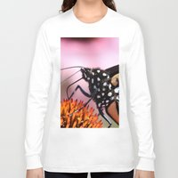 furry Long Sleeve T-shirts featuring Furry Fellow by IowaShots