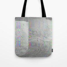 04-24-14 (Pink Cloud Bitmap Glitch) Tote Bag
