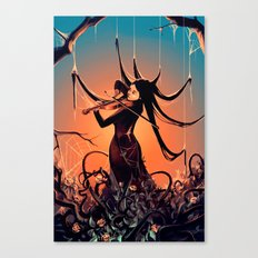FiddleBack Canvas Print