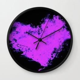 InkHeart Wall Clock