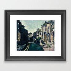 Haworth, England Framed Art Print