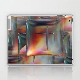 Mirrored Metallic Tile Laptop & iPad Skin