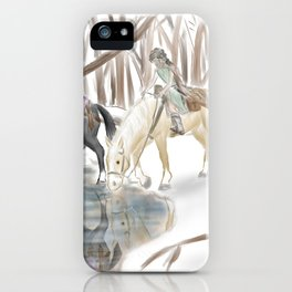 Winter Knights iPhone Case