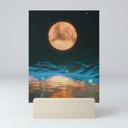 MARS SCOUT Mini Art Print