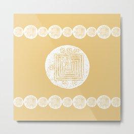 The Labyrinth Metal Print