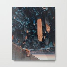 big city, big world. Metal Print