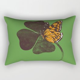 By Chance - Green Rectangular Pillow