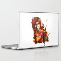 lara croft Laptop & iPad Skins featuring Lara Croft by ururuty