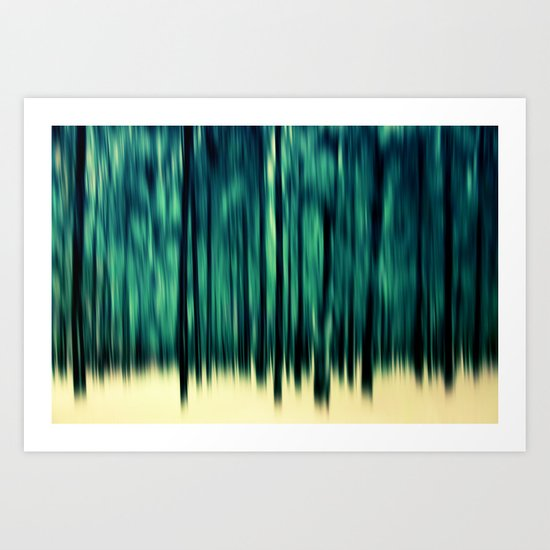 Pineline Art Print