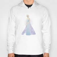elsa Hoodies featuring Elsa by Maggins