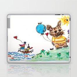 ::  Honey Rabbit on the Knoll :: Laptop & iPad Skin