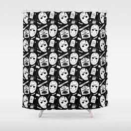 Welcome to Camp Crystal Lake! Shower Curtain