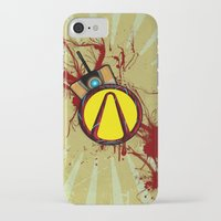 borderlands iPhone & iPod Cases featuring Borderlands by erndub