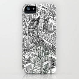 The Town of Train 2 iPhone Case