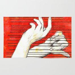 Inky hands17-Music Rug