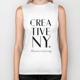 Creative NY T-Shirt Biker Tank