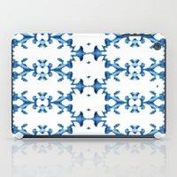 ikat iPad Cases featuring Ikat by Lauren Heslop