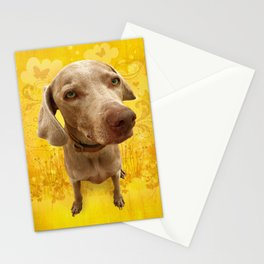 PARKER POSEY (dandilion) puffy cloud series Stationery Cards