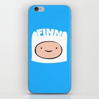 finn iPhone & iPod Skins featuring FINN by Sara Eshak