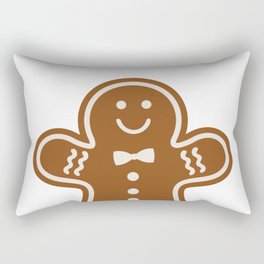 Gingerbread Hugs Rectangular Pillow