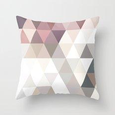 PINK AND GREY Throw Pillow