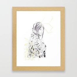 Mosshart Framed Art Print