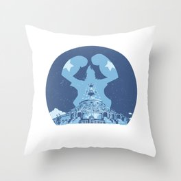 Franky Water 7 Throw Pillow