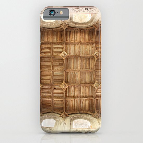 Wooden church ceiling  iPhone & iPod Case