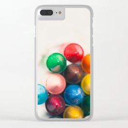 Bundle of Crayons Clear iPhone Case