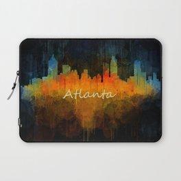 Atlanta City Skyline UHq v4 Laptop Sleeve