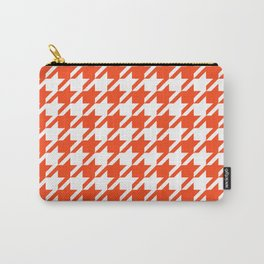 Florida fan gators university orange and blue team spirit football college sports houndstooth Carry-All Pouch