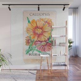 Calliopsis Seed Pack Wall Mural