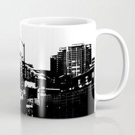 99 North in Black and White Coffee Mug