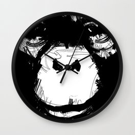 Everything's More Fun With Monkeys! Wall Clock
