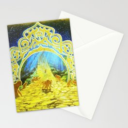 The Golden Path Stationery Cards