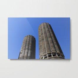 marina city // wilco towers Metal Print