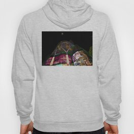 Christmas Glimmering Shopping Mall With Moon Hoody