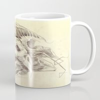 bones Mugs featuring Bones by Vilebedeva