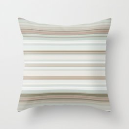 Classic stripes pattern Throw Pillow