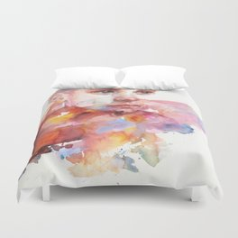 don't worry about it, you're a flower Duvet Cover