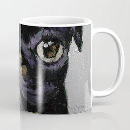 Black Pug Coffee Mug
